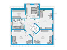 17 Clarus 180 DG Floor Plants, Small Modern Home, Apartment Plans, House Floor Plans, Planer, Flooring, How To Plan, Interior, Cuthbert