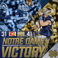 Notre Dame VICTORY!!! 045e17869