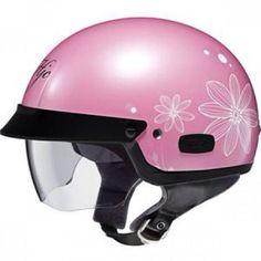 Pink Harley helmet