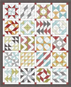 Layer Cake Sampler quilt