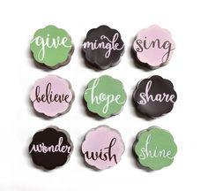 To Do List Vanilla Fleur De Sel Caramel Chocolates - Give, Mingle, Sing…