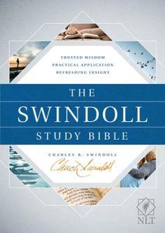 The NLT Swindoll Study Bible, Hardcover