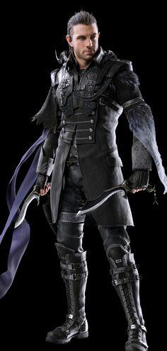 Nyx from Final Fantasy XV: Kingsglavie