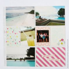 Project Life Travel Bohol, Philippines  project life vacation  project life summer  project life dear lizzy polka dot party mini kit  thickers  project life beach Polka Dot Party, Polka Dots, Project Life Travel, Bohol Philippines, Diy Gifts, Scrapbook, Graphic Design, Kit, Vacation