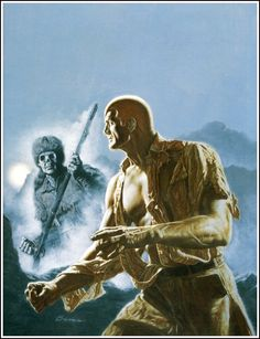 Doc Savage - The Squeaking Goblin Cover Art
