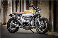 '83 BMW R80 - Down & Out CaféRacers - Pipeburn - Purveyors of Classic Motorcycles, Cafe Racers & Custom motorbikes