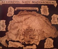 Vintage World Maps, Flags, Travel, Hungary, Viajes, National Flag, Destinations, Traveling, Trips