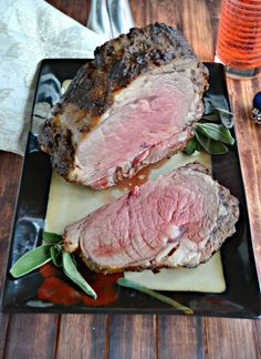 Grab a knife and fork and dig into this amazing Lemon Dijon Beef Roast! Pork And Beef Recipe, Best Beef Recipes, Roast Recipes, Chicken Recipes, Delicious Recipes, Amazing Recipes, Holiday Recipes, Dinner Recipes, Standing Rib Roast