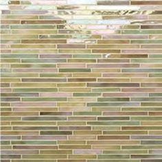 Gigi's Groovy Stixx Glass Mosaic Tile - Brown Sugar IR