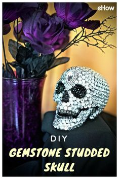 Just because it's Halloween time doesn't mean you can't bring some bling into your life! Add some sparkle to your spooky display with this fun and easy DIY!