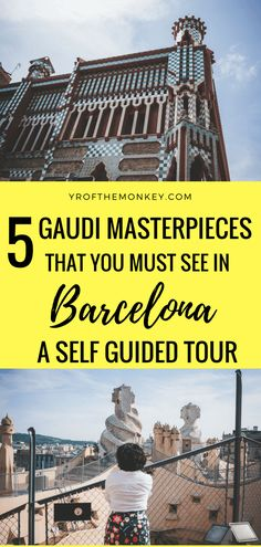 This is a self guided Barcelona Gaudí tour featuring tips and helpful information on how to see five of Antoni Gaudi's famous modernist creations without any hassle. This walking architecture tour includes one hidden attraction not visited by many tourists. Pin this to your Spain guide to plan for your Barcelona trip. #barcelona #spain #antonigaudi #architecture #modernism #spainvacation #architecturetour #selfguidedwalkingtour