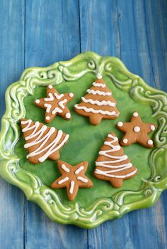 Spicy and delicious gingerbread cookies that are gluten free and vegan.