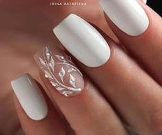 Bride Nails, Prom Nails, Nail Art Designs, Tattoo Designs, Cute Nails, My Nails, Wedding Nails Design, Wedding Designs, Wedding Ideas