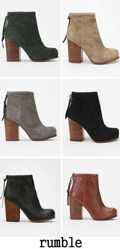flattery: RUMBLE by Jeffery Campbell #booties every color please.