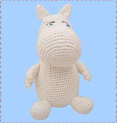 Crochet Moomin - Retro to Go Crochet Hippo, Crochet Animals, Crochet Toys, Knit Crochet, Knitting Yarn, Knitting Patterns, Crochet Patterns, Crochet Ideas, Fuzzy Felt