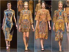 #dolce&gabbana #byzantine #ottoman #anatolia #fashion