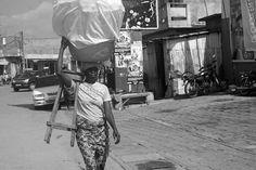 Street Food seller in Cotonou, Benin   #JujuFilms #BeninWoman #Cotonou #Africa #Benin