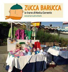 Zucca Barucca realizza con materiali naturali accessori per bambino: cappellini, cuffie, sciarpe, scarpine, ponchi e copertine culla fatti a mano con la tecnica del crochet e della maglia.   http://www.vetrinesulweb.net/it/zucca-barucca.html