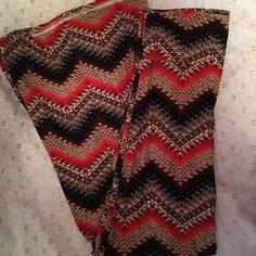 Maxi skirt Maxi skirt. Hot Kiss. Brown, tan and reddish orange. Size L/XL. Excellent condition. Hot Kiss Skirts Maxi