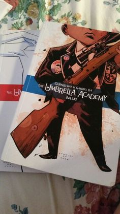 If you don't have the umbrella academy series, get it now! Gee and Gabriel did an amazing job!