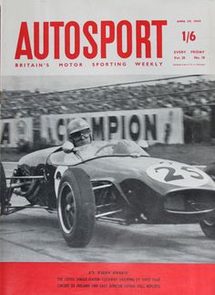Vintage British Magazine Autosport Apr 29 1960 Pau GP Lotus Formula Junior