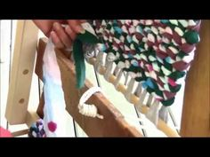 Part 2 how to make a potholder - YouTube
