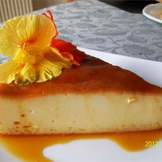 Flan Mexicano (Mexican Flan) Recipe - A creamy, rich, orange-scented custard displays a golden syrupy topping of caramelized sugar in this classic Mexican dessert. It's been a treasured family secret for years. Baked Flan Recipe, Biko Recipe, Mexican Flan, Caramelized Sugar, Do It Yourself Furniture, Jus D'orange, Filipino Desserts, Cupcakes, Original Recipe