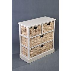 Wicker Valley 2 + 2 Drawer Chest £150 For bedroom 4