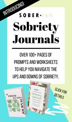 Journaling is a powerful tool in sobriety. If you want support working through some of the deep, emotional work of sobriety, these journals designed specifically to help you do just that! Quitting Alcohol, Getting Sober, Nicotine Addiction, Addiction Recovery, Addiction Quotes, Sober Living, Sober Life, Self Compassion, Sobriety