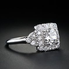 1930s vintage engagement ring marinagrace