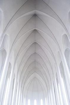 ♂ White architecture interiors