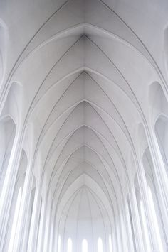 ♂ White architecture interiors