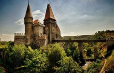 Corvin Castle, also known as Hunyad Castle or Hunedoara Castle, is a spectacular gothic renaissance castle in Hunedoara, Transilvania - Romania, and it was built as a prison and as a defense fortress on the site of an old Roman fort.The name of the castle – Hunyad Castle - is closely tied to that