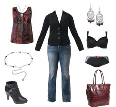 My creative outfit from Lane Bryant. A do-it yourself wardrobe program