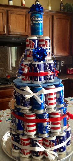 Budweiser cake by Megan