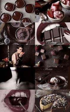 7 deadly sins: Gluttony aesthetic (x)