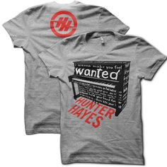 Wanted- Hunter Hayes ♥♥♥♥♥♥ I HAVE IT!! IT'S SIGNED BY HIM!!!