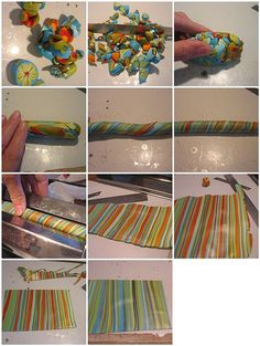 how to make a striped sheet?, via Flickr.