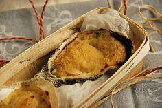 Huîtres chaudes à la charentaise {recette gratinée} -Tangerine Zest