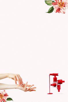 Beautys salon E&M Pop Art Wallpaper, Flower Background Wallpaper, Flower Backgrounds, Beauty Background, Nail Salon Design, Nail Salon Decor, Salon Art, Nail Polish Brush, May Nails