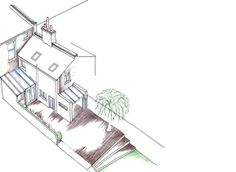 Gayhurst Road Victorian House, House Extensions, Victorian Home, Victorian Townhouse, House Additions, Victorian Houses