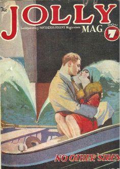 Nov 1927 Jolly mag vintage cover