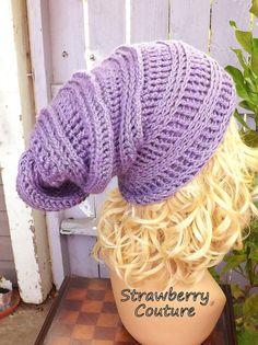 Slouchy Hat Crochet Pattern Crochet Pattern Hat Crochet Hat Pattern Crochet Slouchy Hat Pattern HAPPY SNAIL Crochet Beanie Hat Pattern by strawberrycouture by #strawberrycouture on #Etsy