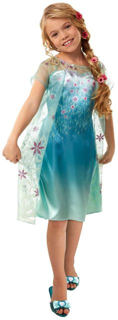 PartyBell.com - Disney Frozen Fever Elsa #Dress