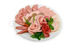 meat platter presentation