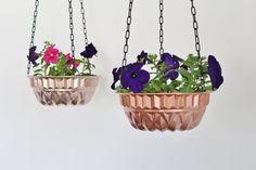 Buy or DIY: Vintage Kitchen Jello Mold & Bundt Pan Planters