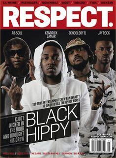 Black Hippy Covers RESPECT. Magazine