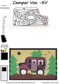 Camper VAV RV IF on Craftsuprint - Add To Basket!