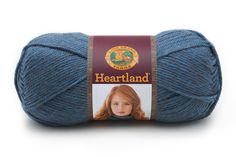Heartland at Lion Brand Yarn in Crater Lake