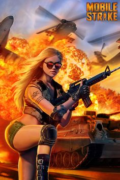Play Mobile Strike. Brand New Addictive Modern War Strategy Game!